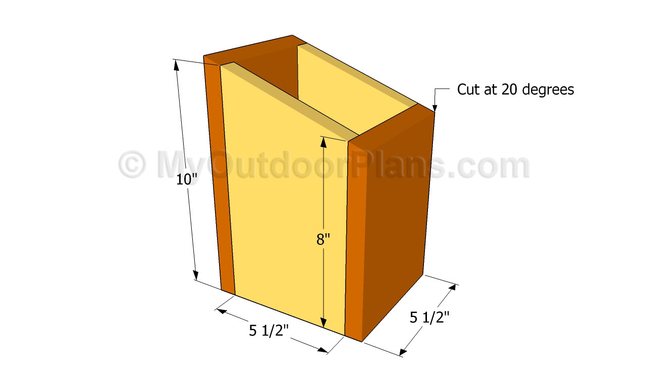 Simple birdhouse plans free outdoor plans diy shed for Free playhouse plans