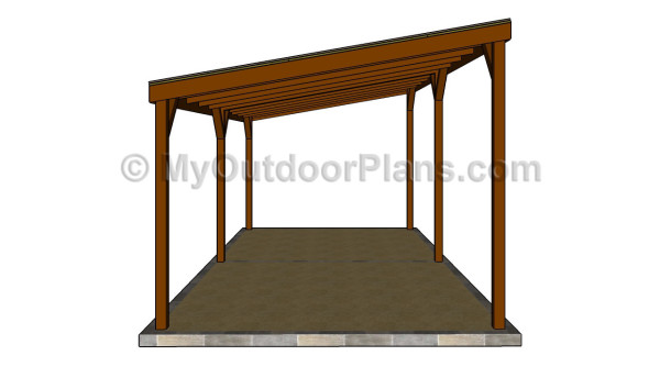 wood carport designs myoutdoorplans free woodworking