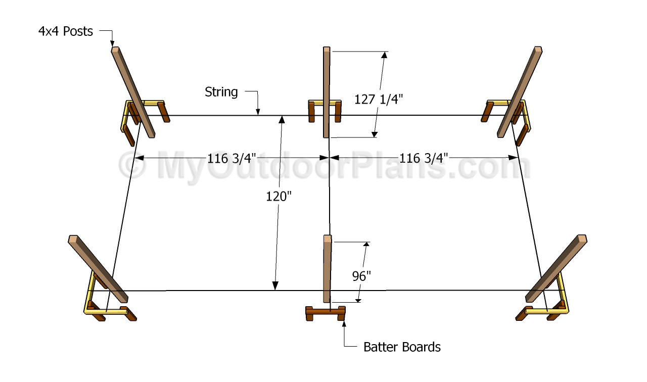 Wooden Carport Plans | Free Outdoor Plans - DIY Shed, Wooden ...