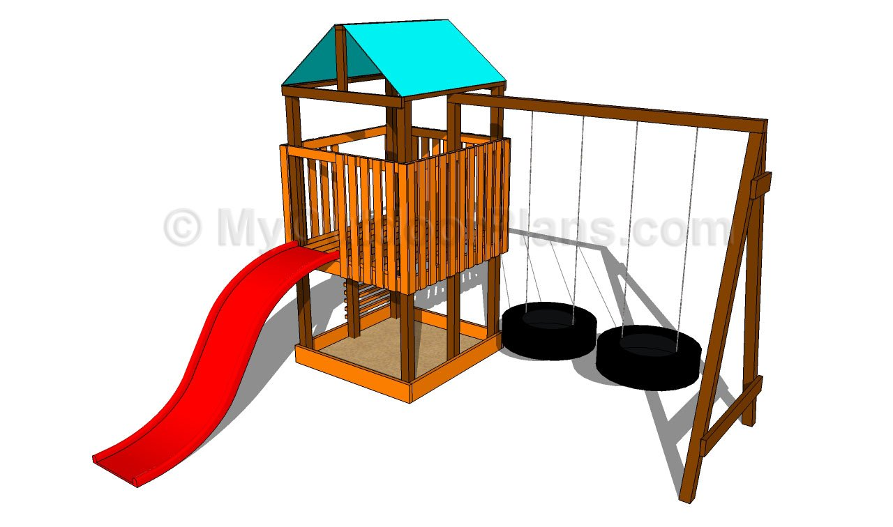 Outdoor Play Structure Plans Free