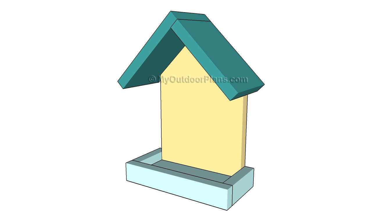platform bird feeder plans | myoutdoorplans | free woodworking
