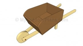 Wooden Wheelbarrow Plans