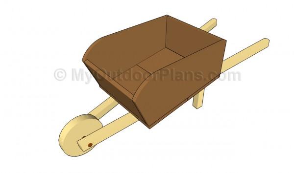 Wooden wheelbarrow plans