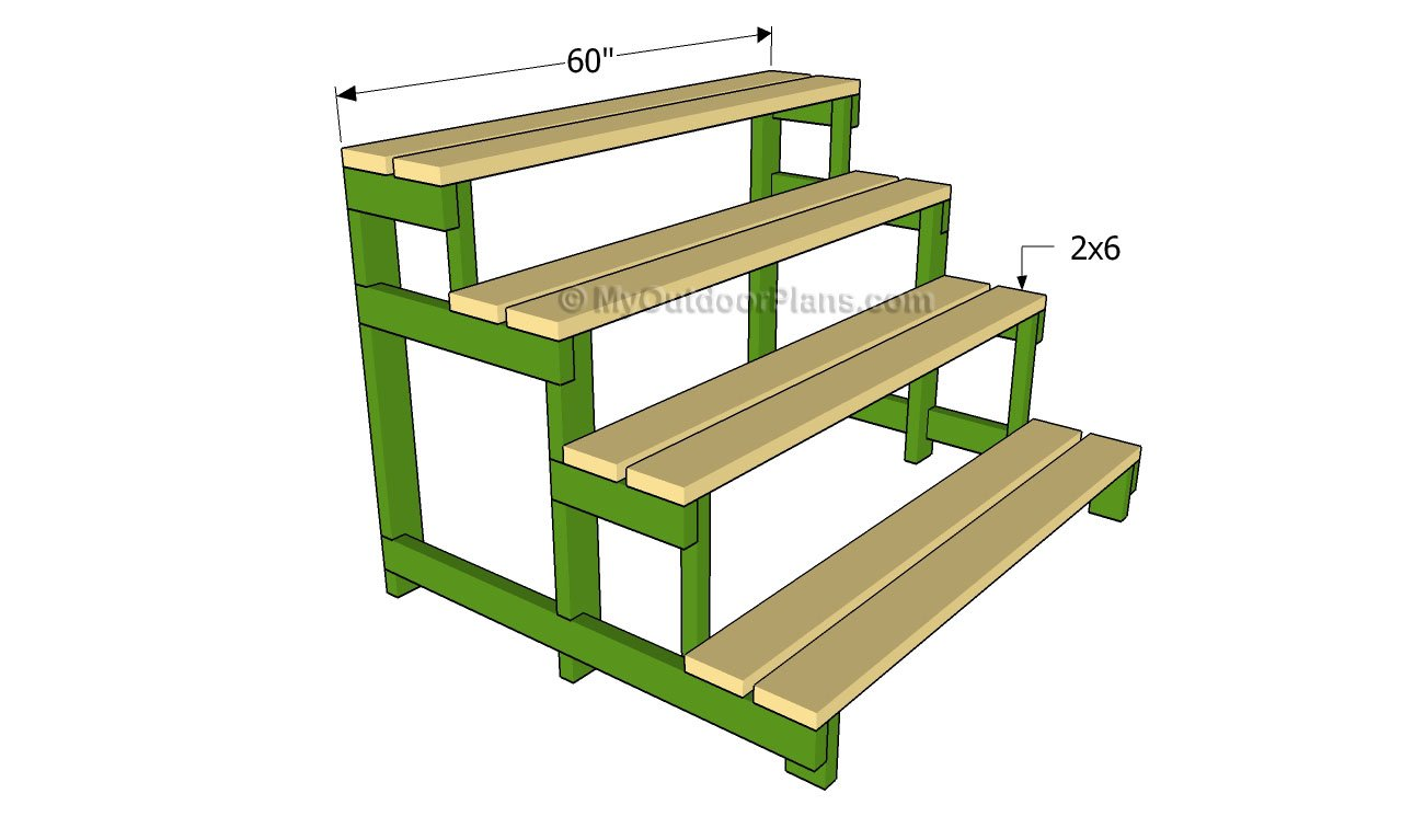Outdoor Wooden Plant Stand Plans