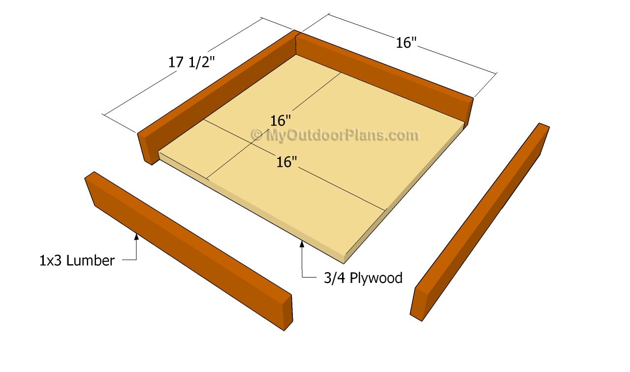 Simple Platform Bird Feeder Plans