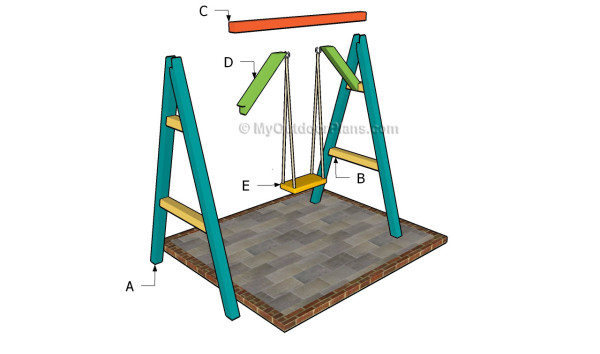 Simple A Frame Swing Plans