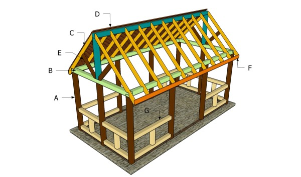 Outdoor pavilion plans myoutdoorplans free woodworking for Average cost to build a pavilion