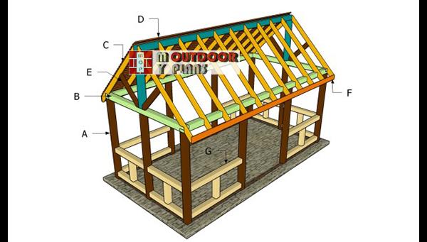 Building-an-outdoor-pavilion