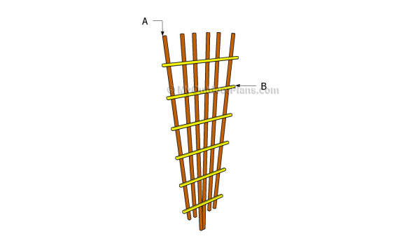 trellis construction plans