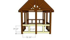 Building the end railings