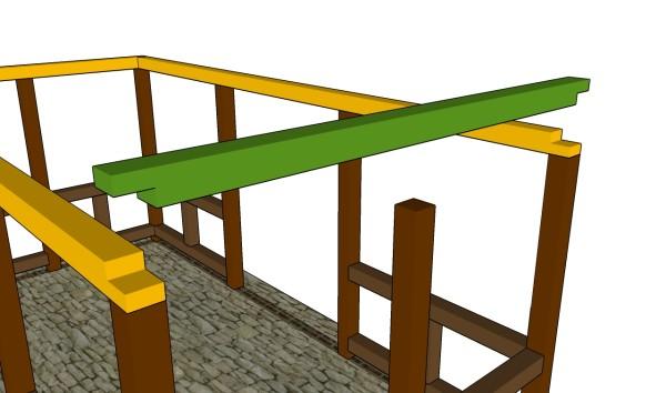 Building the top rails