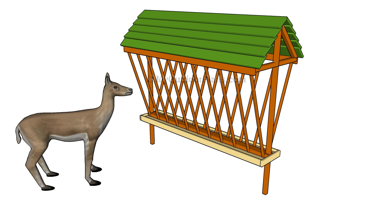Deer Feeder Plans