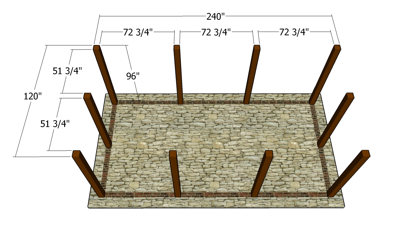 Outdoor pavilion plans free outdoor plans diy shed for Pavilion blueprints