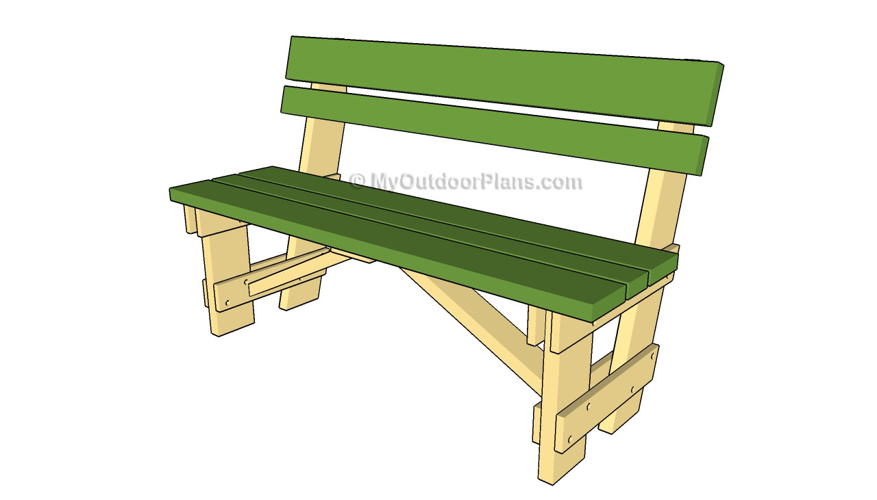 simple wooden garden bench plans Quick Woodworking Projects