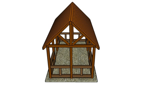 How to build an outdoor pavilion