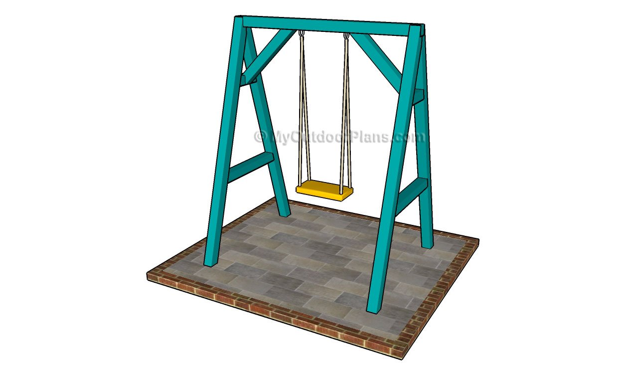 Backyard Playground Plans :  Playset swing plans Plans PDF Download Free Backyard Playground Diy