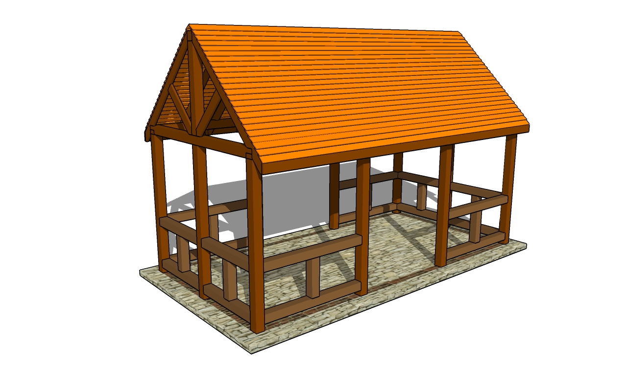 Outdoor Pavilion Plans | Free Outdoor Plans - DIY Shed, Wooden ...