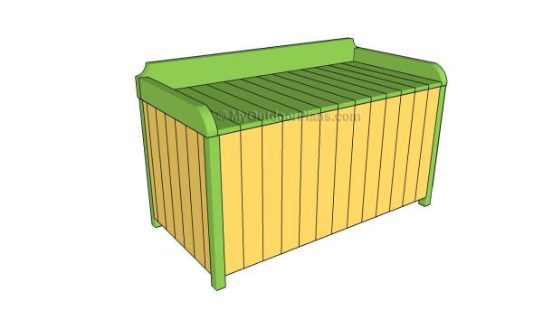 Outdoor storage box plans