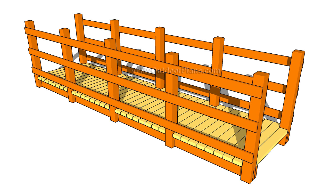 Wooden Bridge Plans