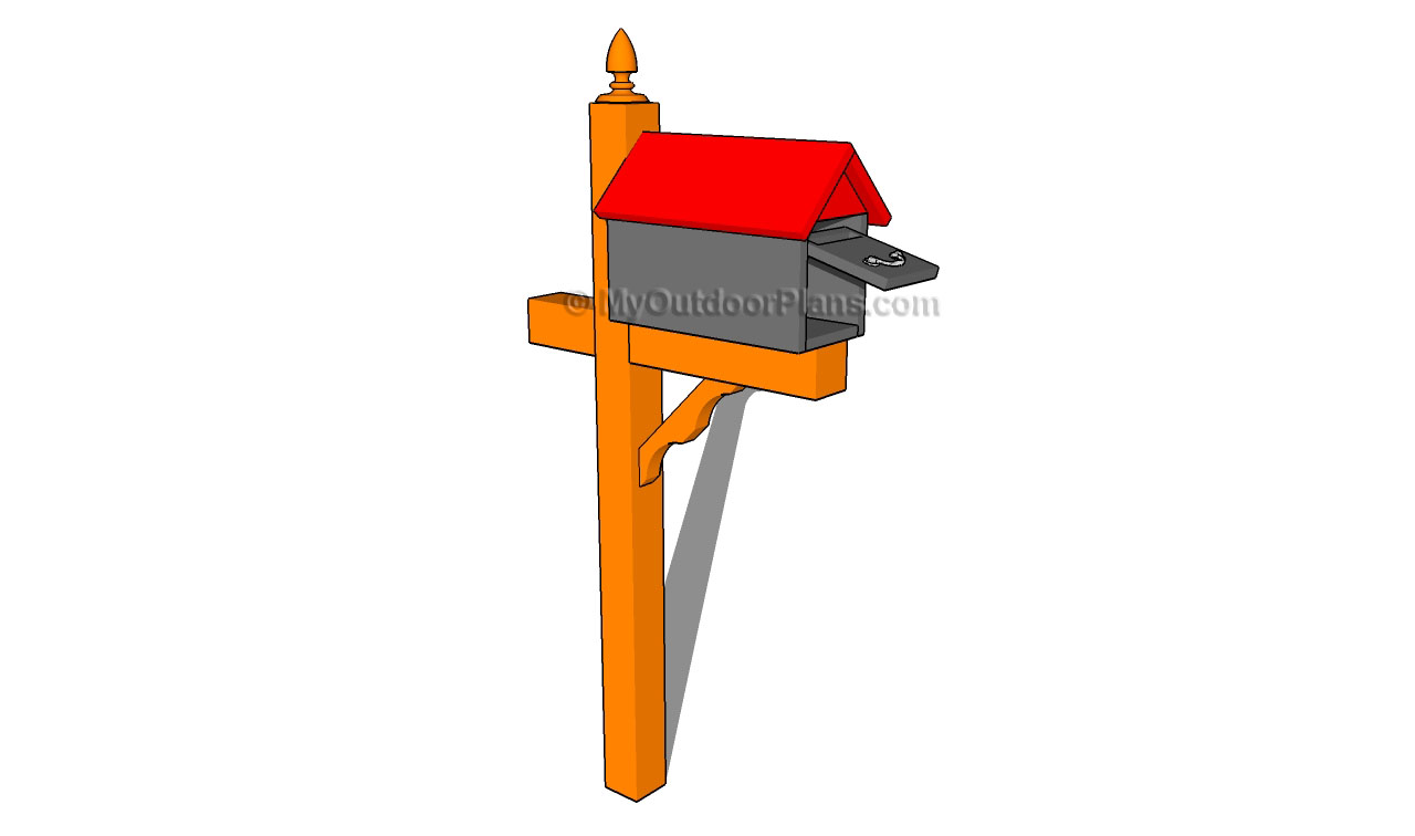 Original Timberframed Mailbox Woodworking Plan From WOOD Magazine