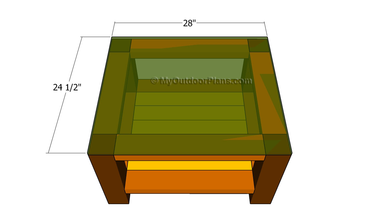 Outdoor End Table Plans | Free Outdoor Plans - DIY Shed, Wooden ...