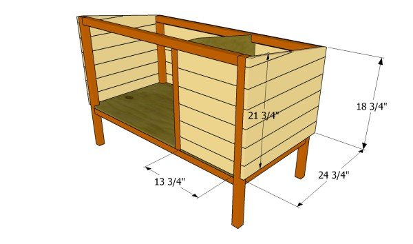 Outdoor Rabbit Hutch Plans MyOutdoorPlans Free Woodworking