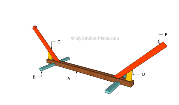 Wood Hammock Stand Plans Pdf Woodworking