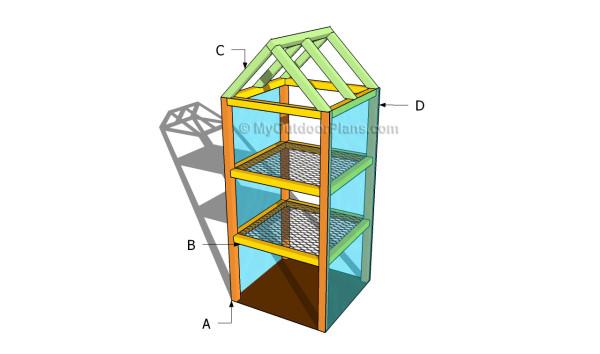 Buidling a mini greehouse
