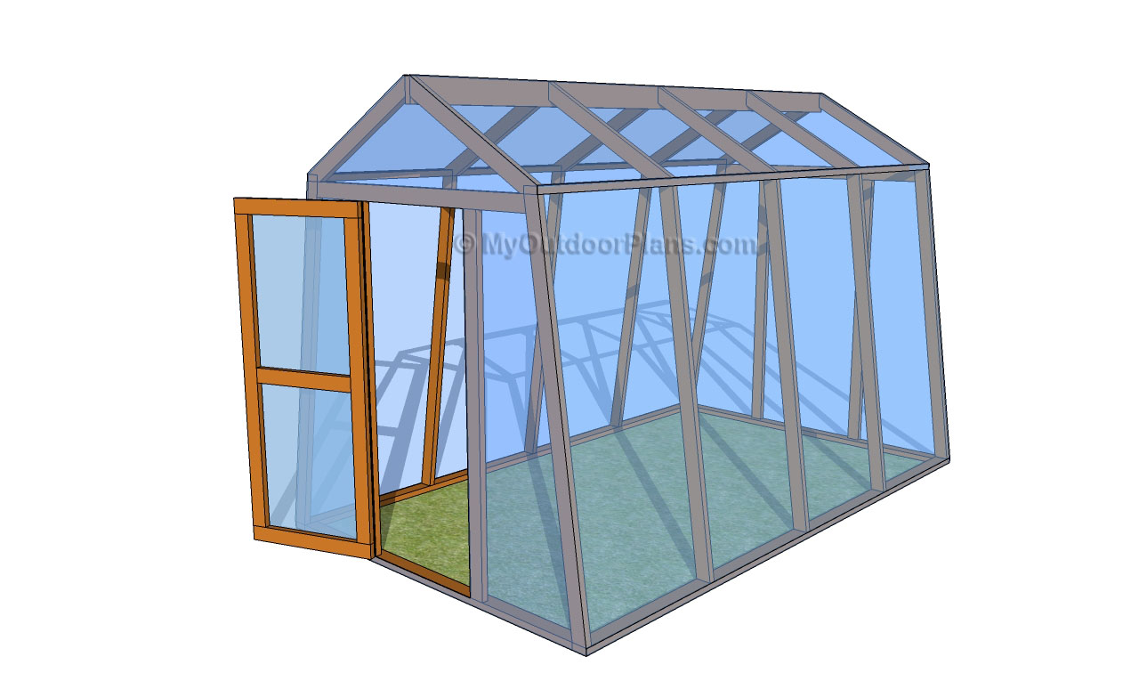 Lean Greenhouse Plans Designs
