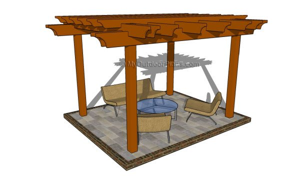 Components plans - Free Pergola Plans MyOutdoorPlans Free Woodworking Plans And