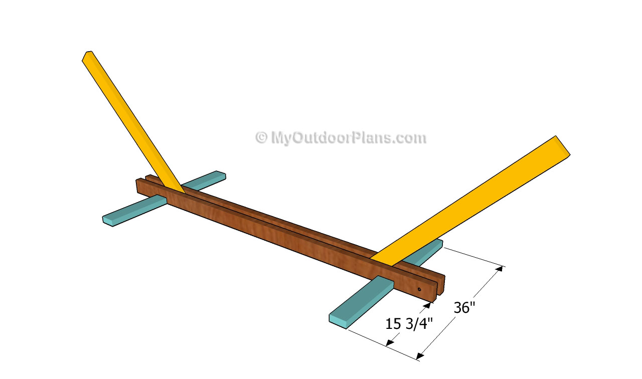 Homemade Wood Hammock Stand Plans