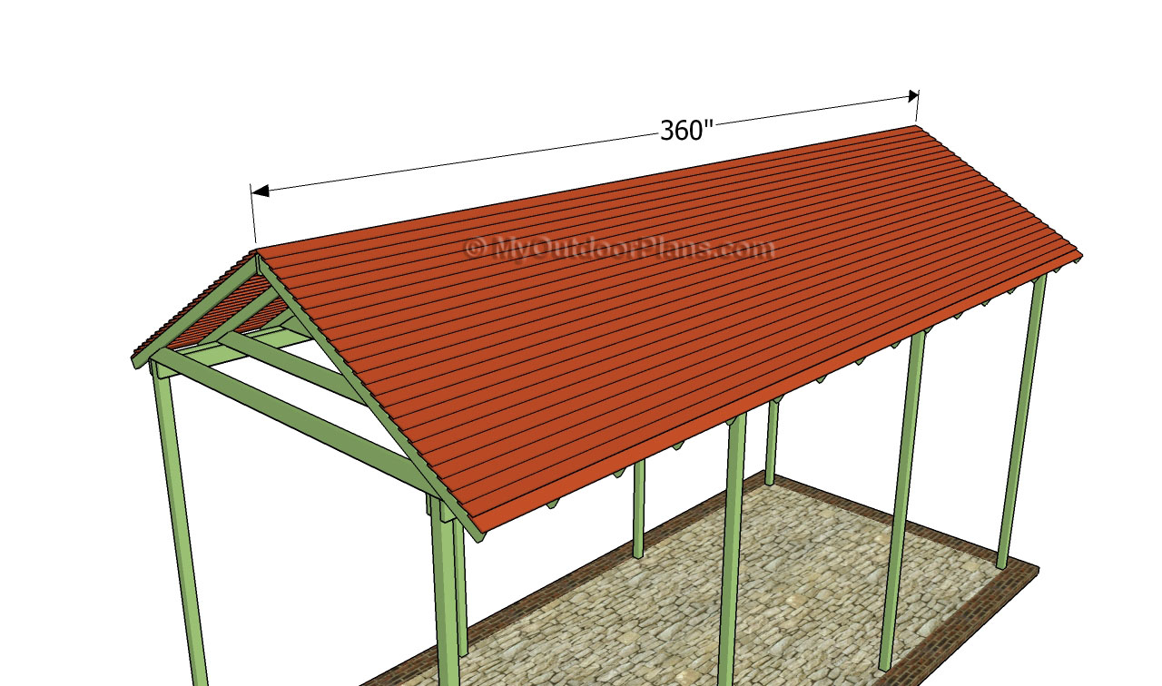 Rv carport plans free outdoor plans diy shed wooden Motorhome carport plans