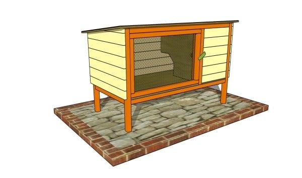 Outdoor Rabbit Hutch Plans Myoutdoorplans Free