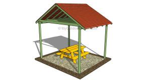 Picnic Shelter Plans