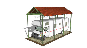 Rv Carport Plans