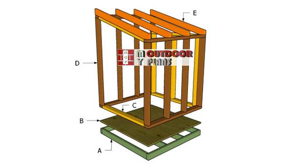 Building-a-generator-shed