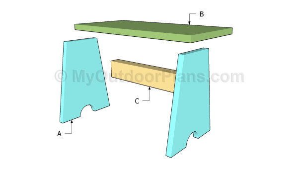 Wood Stool Plans | MyOutdoorPlans | Free Woodworking Plans and ...