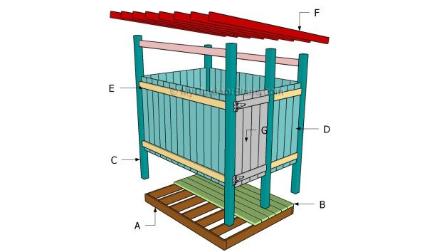 Building an outdoor shower
