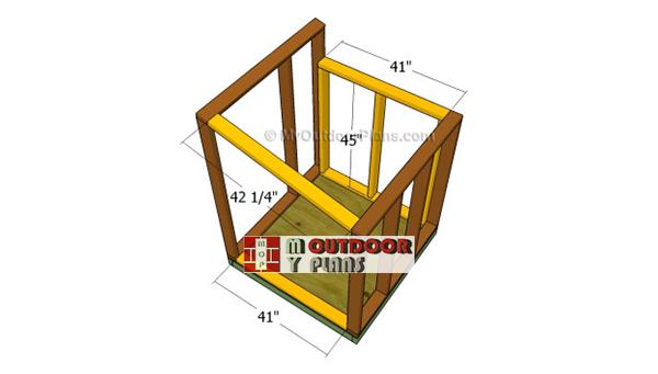 Building-the-end-frames