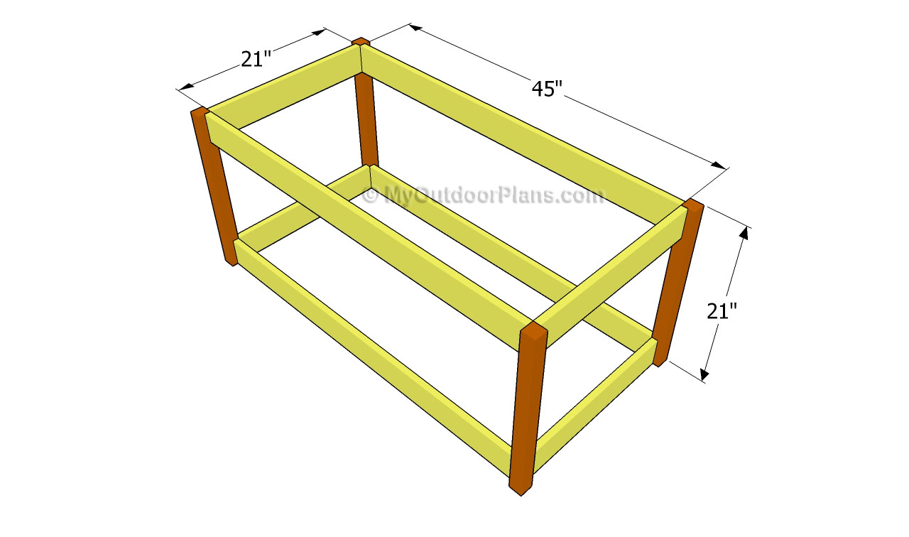 Deck Box Plans | Free Outdoor Plans - DIY Shed, Wooden Playhouse, Bbq ...