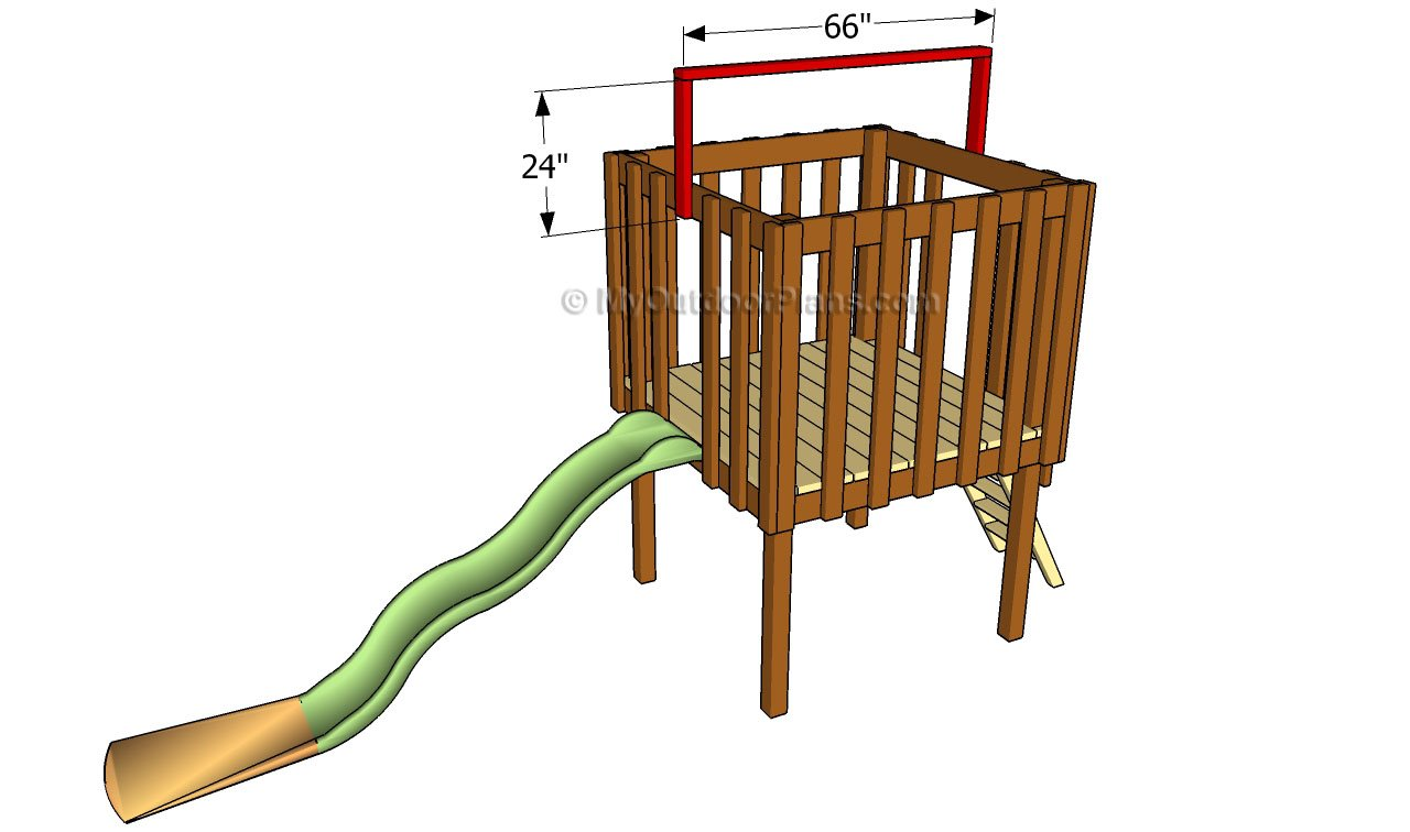 Backyard Fort Plans   Free Outdoor Plans - DIY Shed ...