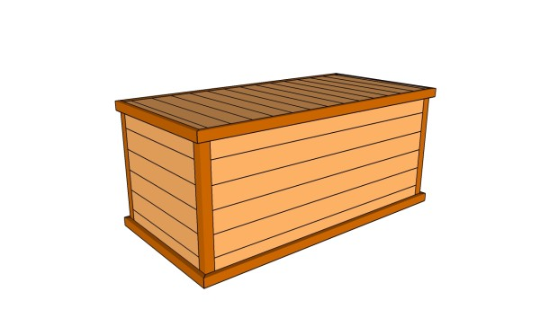 deck box plans myoutdoorplans free woodworking plans and projects diy shed wooden. Black Bedroom Furniture Sets. Home Design Ideas