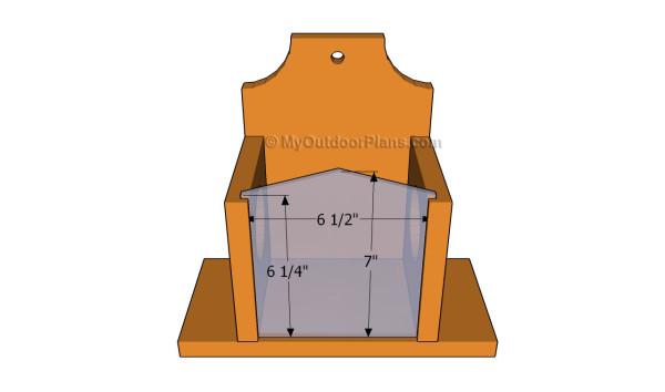 Installing the plexiglass wall