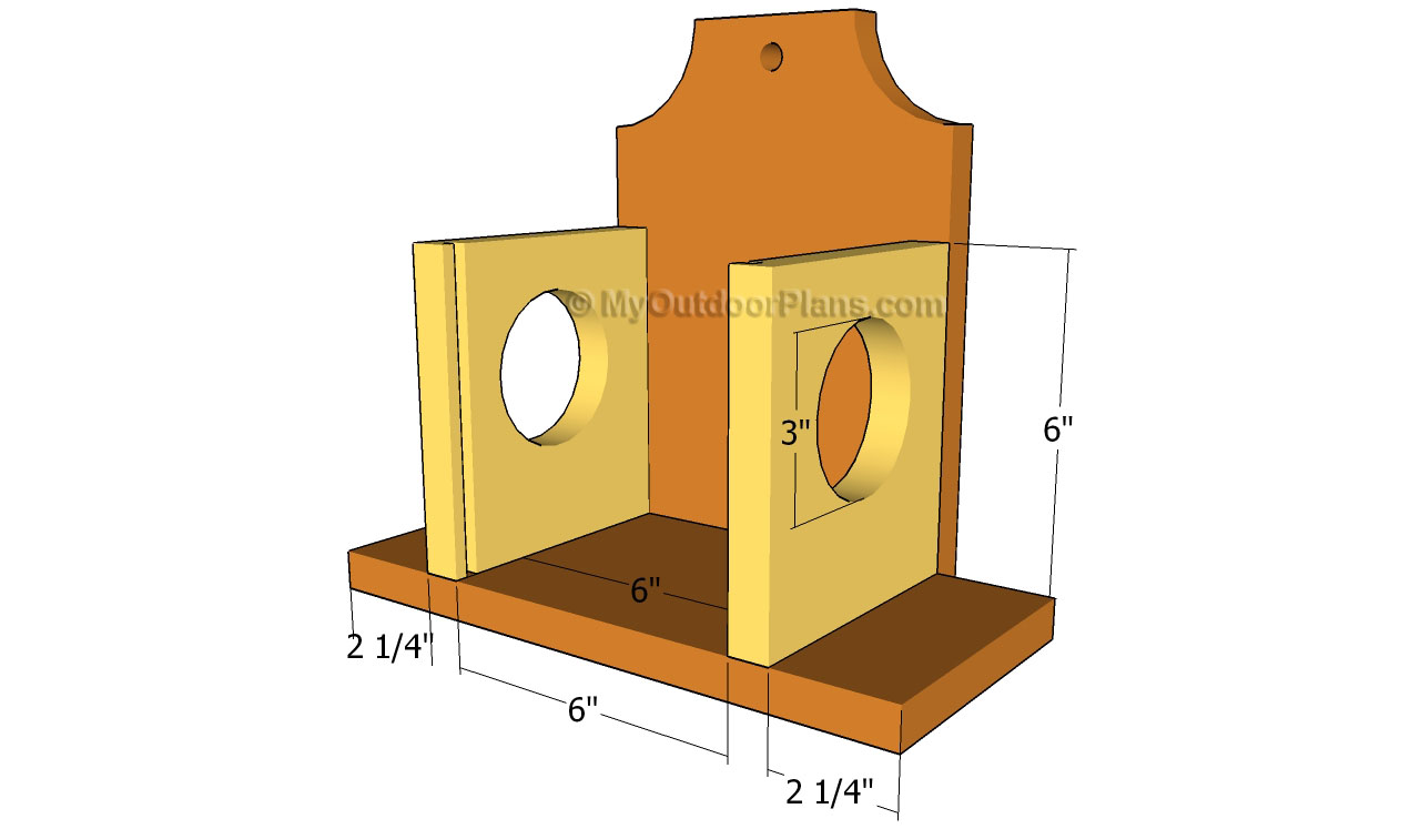 Wooden Squirrel Feeders further Wooden Bird Feeder Plans together with ...