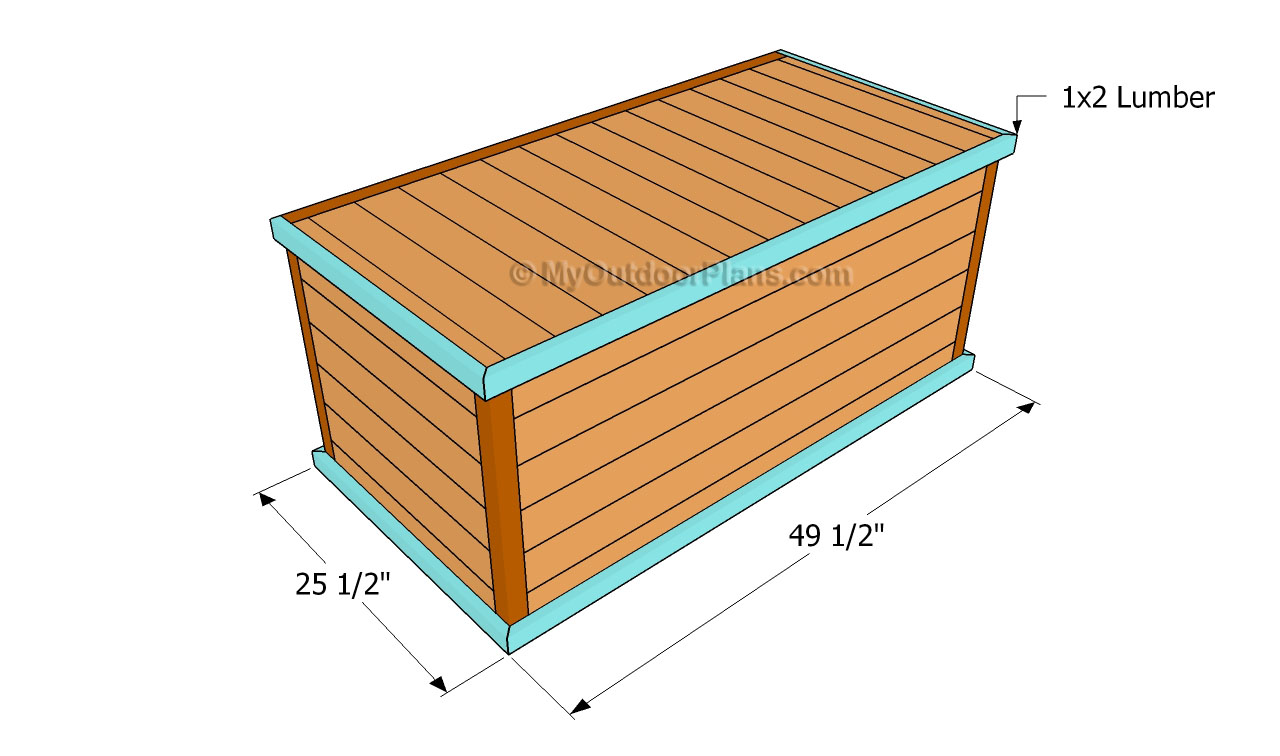 deck box plans free outdoor plans diy shed wooden