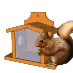 Squirrel Feeder Plans