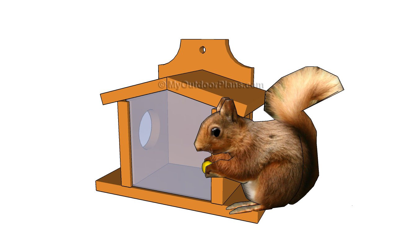 Squirrel Feeder Plans Free Outdoor Plans Diy Shed