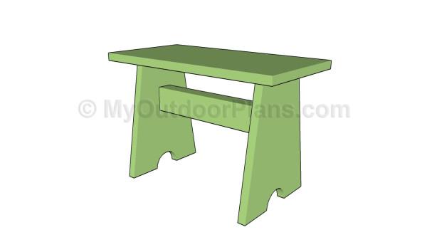 Wood stool plans