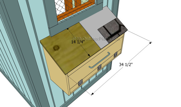 Chicken Nest Box Plans Myoutdoorplans Free Woodworking