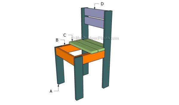 Building a kids chair